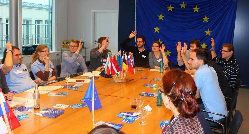 Einladung zum Planspiel Europa 2030 der JEF München